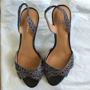Calvin Klein sandals 7.5 M